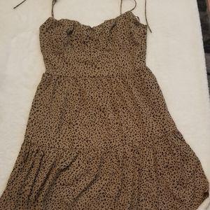 Forever 21 cheetah print minie dress
